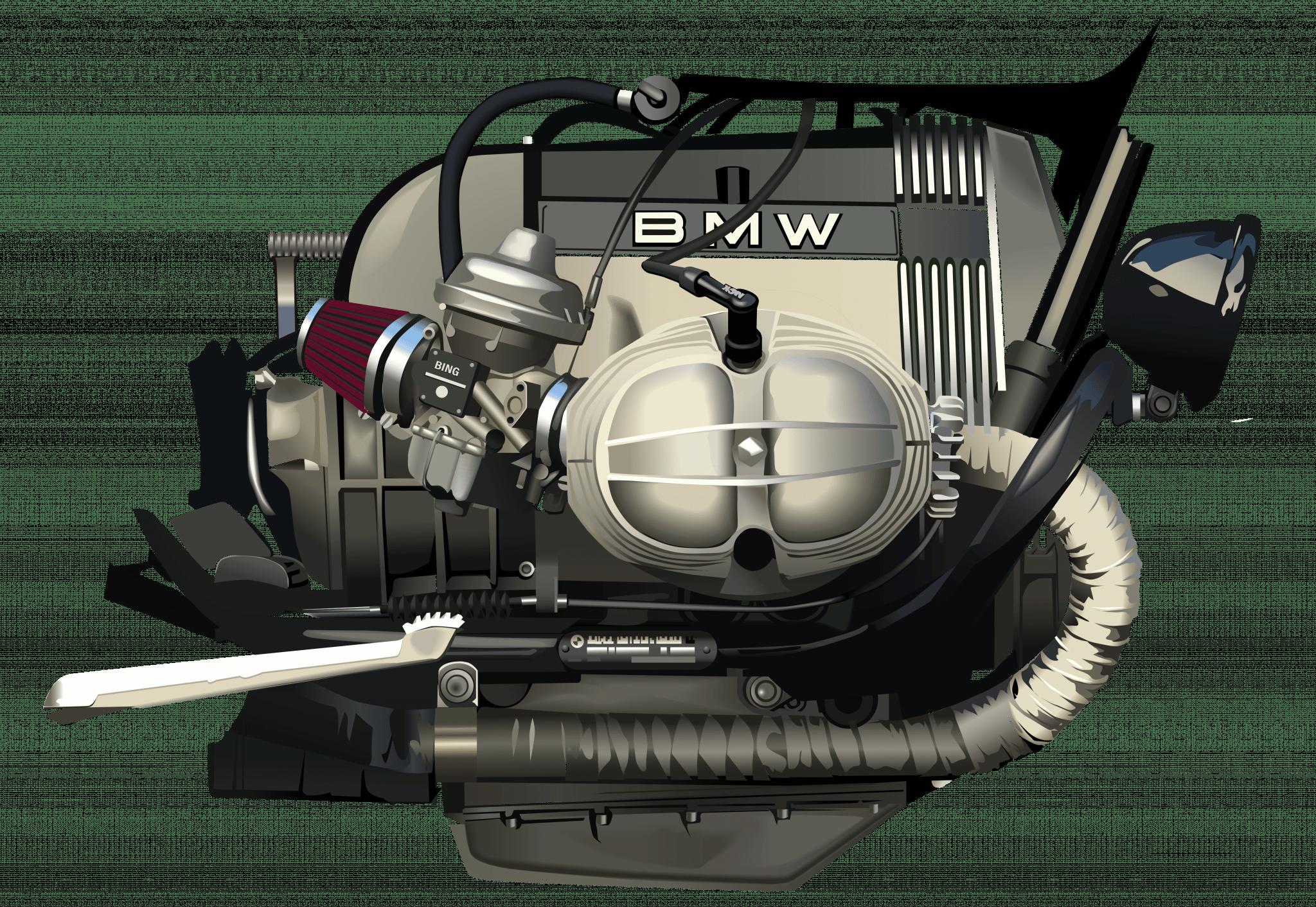 Motor Bóxer vectorial